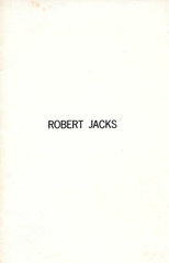 Robert Jacks : Installations 1971 - 1973