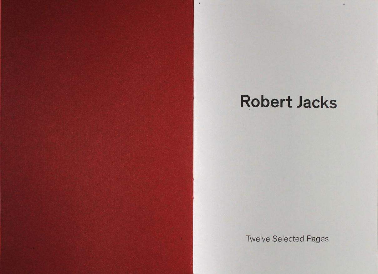 Robert Jacks: Twelve Selected Pages thumbnail 2
