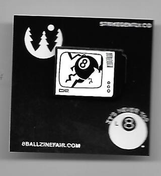 8 Ball TV Pin thumbnail 1