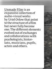 Unmade Film