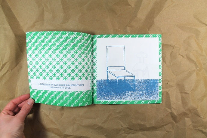 A Catalogue of Blue Chairs thumbnail 5