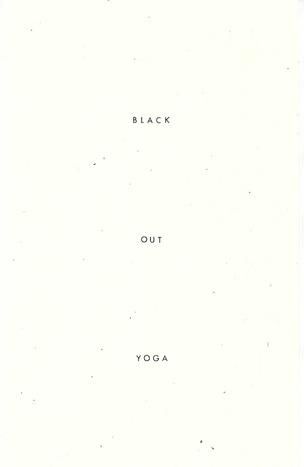 Black Out Yoga