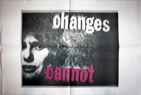 Talk Is Cheap Changes Cannot Poster