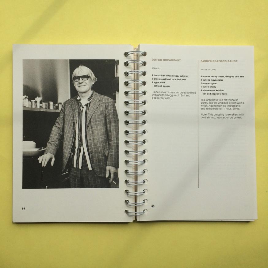 The Museum of Modern Art Artists' Cookbook  thumbnail 6