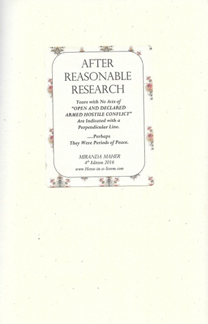 After Reasonable Research [Fourth Edition]