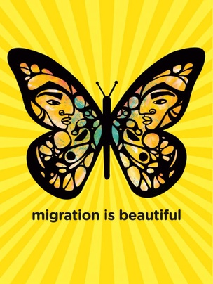 Migration Is Beautiful Poster