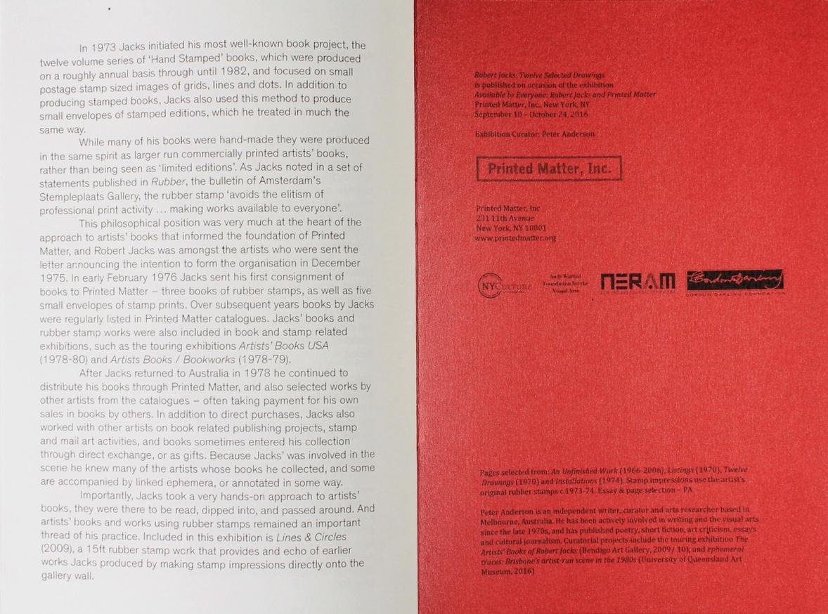 Robert Jacks: Twelve Selected Pages thumbnail 4