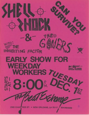 Can You Survive? Shell Shock & The Goners, The Inhibiting Factor at the Beat Exchange