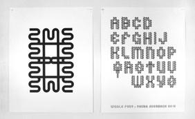 Wiggle Type Specimen Poster