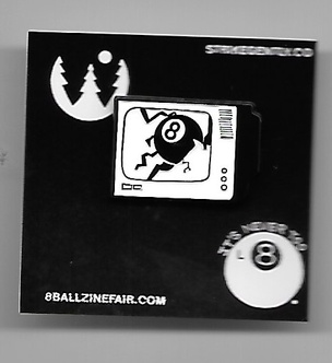 8 Ball TV Pin