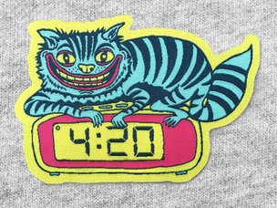 420 Cat Patch
