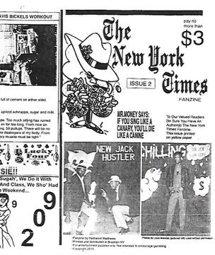 The New York Times Fanzine #2