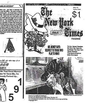 The New York Times Fanzine #1