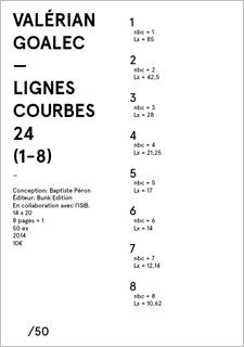 LIGNES COURBES 24 (1-8)