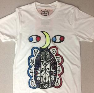 Uranian Press T-shirt [Yellow, Blue, Red]