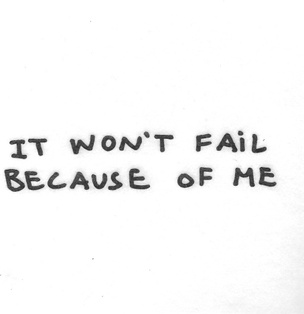 It Won't Fail Because of Me Napkins [Set of 20]