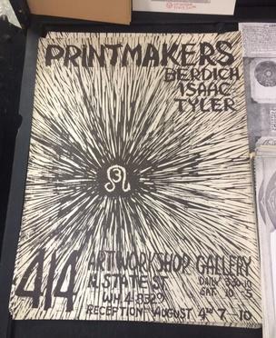 Printmakers : Berdich, Isaac, Tyler