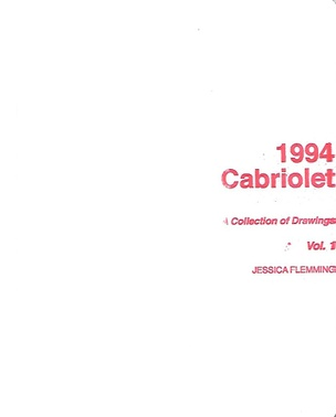 1994 Cabriolet : A Collection of Drawings, Vol. 1