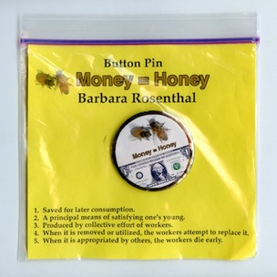 Button Pin Page : Money = Honey