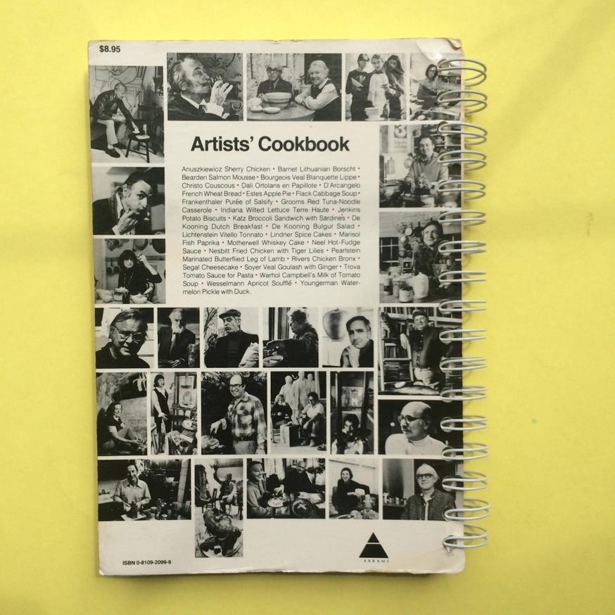 The Museum of Modern Art Artists' Cookbook  thumbnail 9