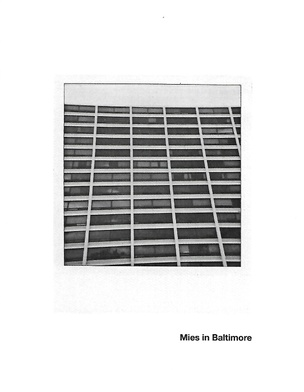 Mies in Baltimore