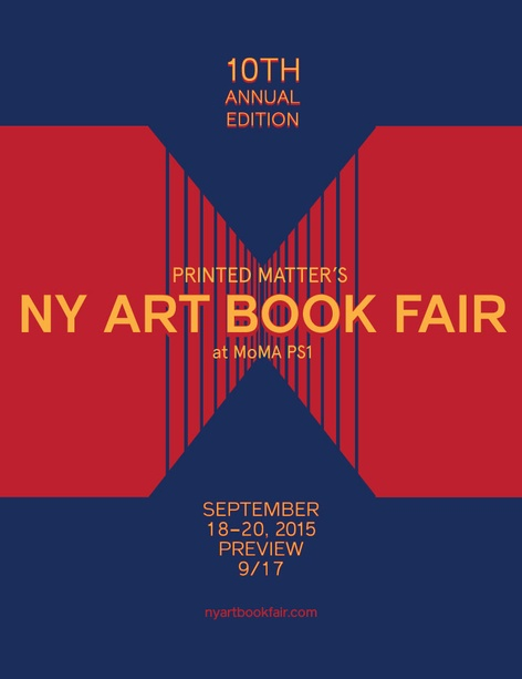 THE NY ART BOOK FAIR 2015