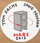 Space Program Sticker