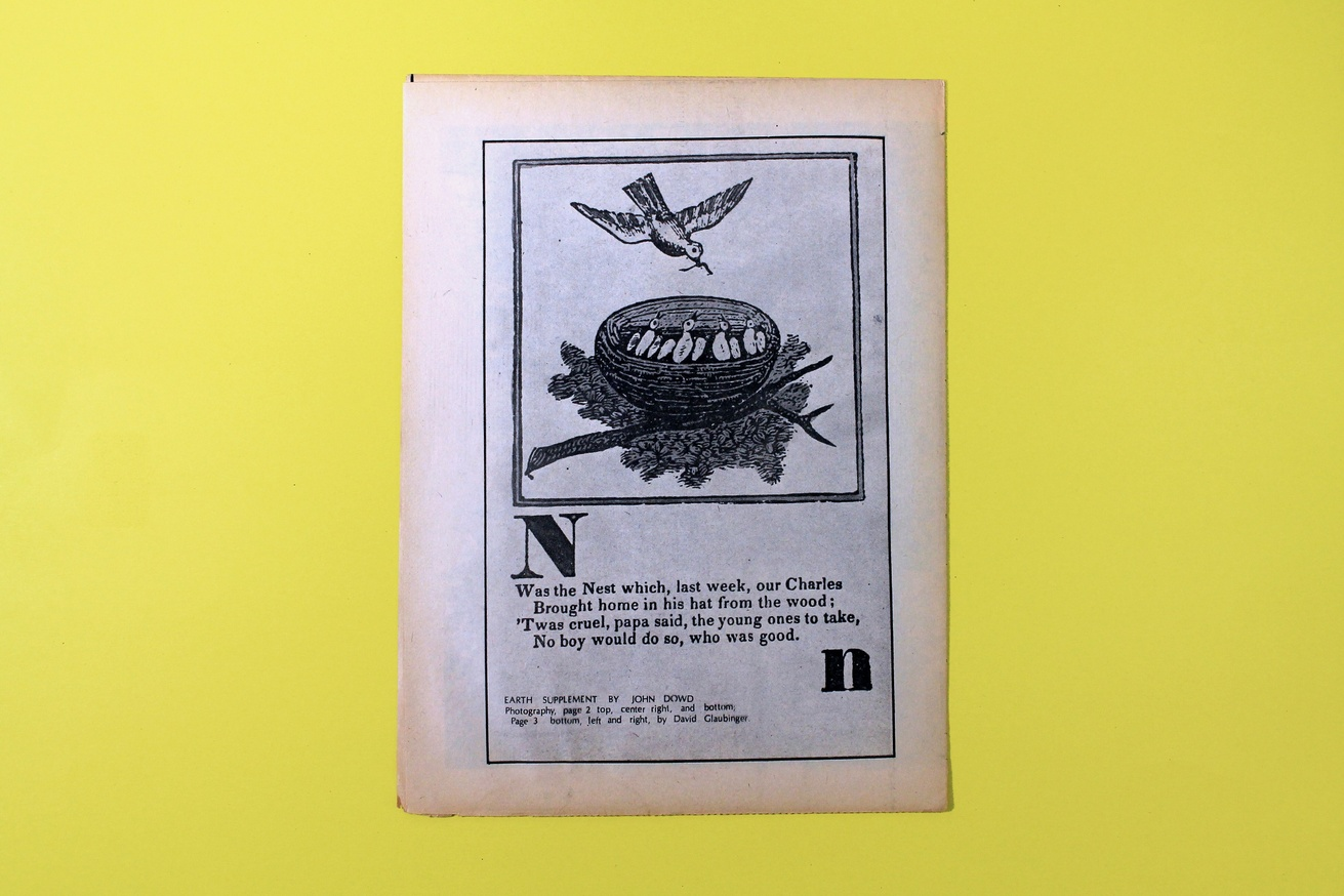 john dowd earth supplement printed matter earth supplement thumbnail 4