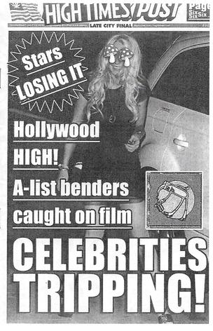 Celebrities Tripping