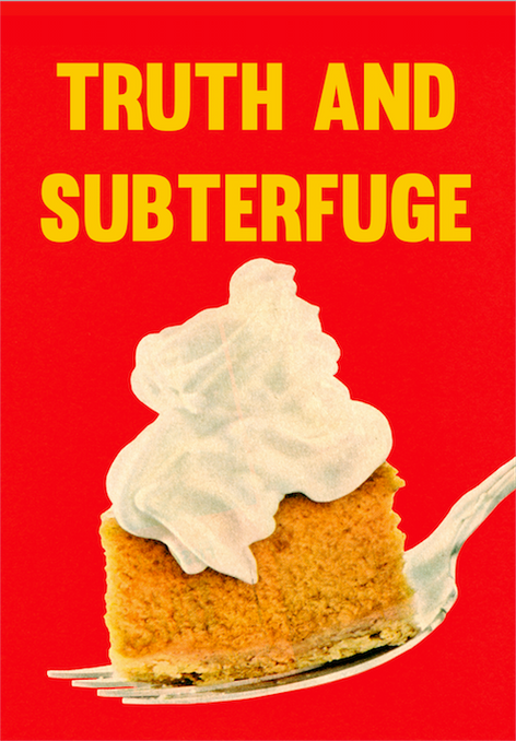 Truth and Subterfuge - Launch and Reading Event
