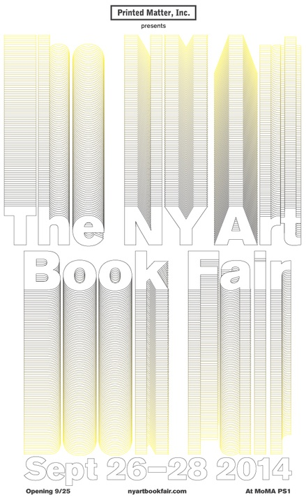 NY Art Book Fair 2014!