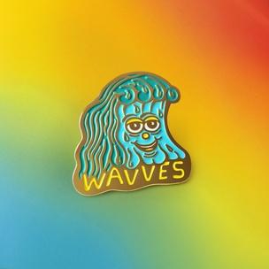 WAVVES Pin