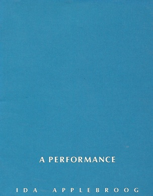 A Performance : Blue Books [6 Volumes]