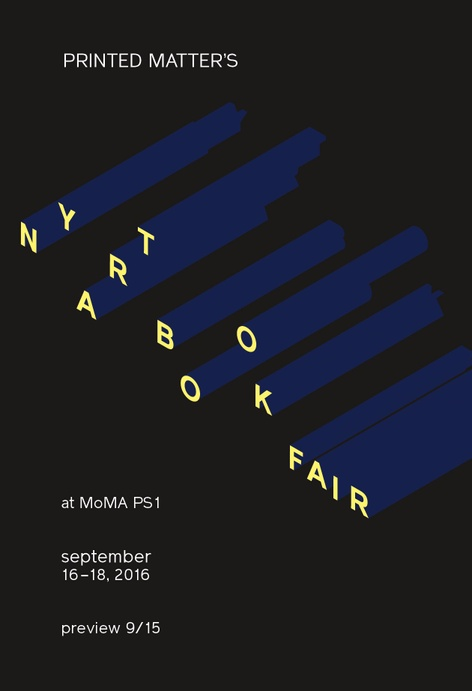 NY ART BOOK FAIR 2016