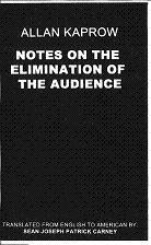 Notes On the Elimination of the Audience