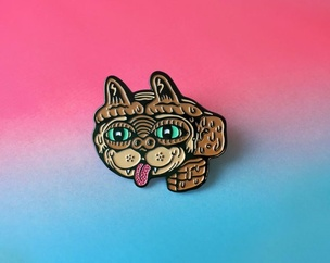 Extra Caterrestrial Pin