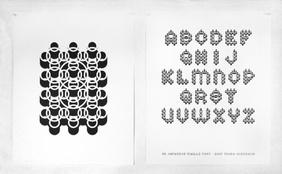 3D Japanese Maille Type Specimen Poster