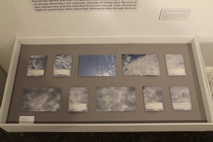(for example, pictures of empty sky)