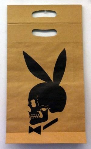 Skull Bunny Shopping Bag
