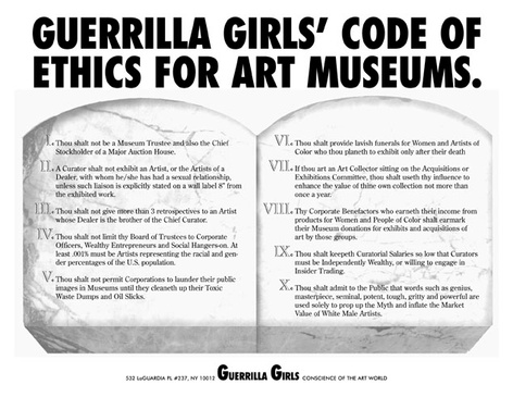 Guerrilla Girls <i>Art Museum Activity Book Expanded Edition</i>